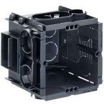 KAISER 7651 Q-range Gerätedose, Unterputz, 65 mm Tiefe ohne Schrauben