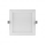 LEDVANCE DL SLIM SQ155 12W/3000K WT IP20 Downlight Slim Square 1020lm 120° weiß 3000K warmweiß