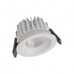 LEDVANCE SPOT LED FIX 8W/3000K WT DIM IP44 3000 K warmweiß
