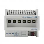 LINGG&JANKE 89205 A6F16H-2 KNX Standard Schaltaktor eibSOLO 16A