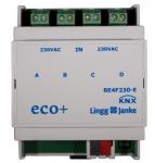 LINGG&JANKE 79532 BE4F230-E KNX eco+ Binäreingang 4fach
