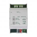 LINGG&JANKE Q79231 Schaltaktor A2F16-Q 16A C-Last geeignet 2-fach