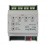 LINGG&JANKE Q79233 Schaltaktor A4F16-QT 4-fach mit Treppenlichtfunktion