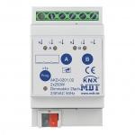 MDT AKD-0201.02 Dimmaktor 3TE REG 250W 230VAC mit Wirkleistungsmessung 2-fach