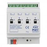 MDT AKI-0416.04 Schaltaktor 4TE REG 16/20A 230VAC C-Last Industrie 200µF 4-fach