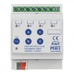 MDT AKS-0410.03 Schaltaktor 4TE REG 10A 230VAC C-Last Standard 140µF 4-fach