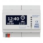 MDT SCN-RTC20.01 Zeitschaltuhr mit LCD Anzeige 6TE REG Schaltuhr mit 20 Kanälen