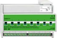 MERTEN 647895 Schaltaktor REG-K/8x230/16 mit Handbetätigung und Stromerkennung