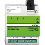 MERTEN MEG6600-0603 KNX Energiezähler REG-K/3x230 V/16 A lichtgrau