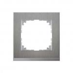 MERTEN MEG4010-3646 M-Pure Decor Abdeckrahmen edelstahl/aluminium 1-fach