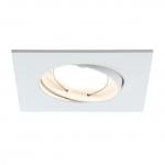 PAULMANN 928.43 Einbauleuchte LED Coin 3x7W 230V 2700K 380lm 105° IP23 3er-Set