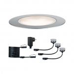 PAULMANN 936.92 Plug&Shine Bodeneinbau Leuchte Floor Eco 3x1W 24V 50lm dimmbar 3000K