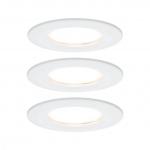 PAULMANN 938.58 Einbauleuchte LED Coin Slim 6,8W weiß