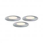 PAULMANN 939.49 Plug&Shine Bodeneinbauleuchte Floor Mini 3x2,5W 3000K warmweiß