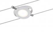 PAULMANN 940.88 LED Seil-Leuchte RoundMac 1x4W 12V 2700K weiß matt