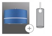 PAULMANN 953.66 URail 2Easy Stoffschirm Tessa max. 50W Durchmesser 45cm Weiß