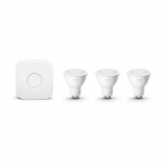 PHILIPS 62927400 Philips Hue White & Color Ambiance Starter-Kit GU10 5,7W
