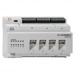 RUTENBECK 23510504 SR 10TX GB PoE Gigabit-Switch für REG-Montage