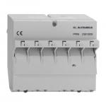 RUTENBECK 23810200 PPR 6 REG-Patchpanel Cat.6/ClassE 6xRJ-45 geschirmt lichtgrau