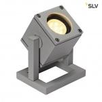 SLV 132832 Standleuchte CUBIX 1 Silbergrau