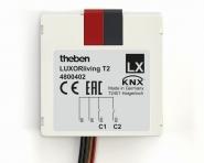 THEBEN 4800402 LUXORliving T2 Tasterschnittstelle 2-fach