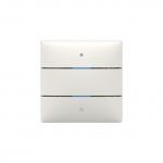 THEBEN 4800412 LUXORliving iON2 mit integriertem Temperatursensor 2 Tasten