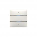 THEBEN 4969232 iON 102 KNX Tastsensor mit integriertem Temperatursensor 2 Tasten