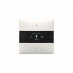 THEBEN 4969238 iON 108 KNX Raumcontroller integriertem Busankoppler