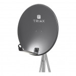 TRIAX TDA 64 A1 Offset-Parabolreflektor Anthrazit Alu Anthrazit