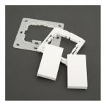 EVOTEC EHAK02 Montageset für Funktaster Enocean, Zigbee, KNX RF Reinweiß glänzend