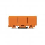 WAGO 2273-500 Befestigungsadapter orange für ein- und zweireihige Klemmen