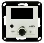 WHD DAB+ UP-Radio inkl. Frontplatte 55mmx55mm Weiß