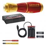 WIHA 44318 speedE II electric E-Schraubendreher-Set 7-tlg.