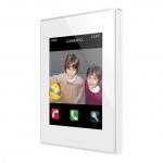 ZENNIO ZVI-Z41COM-WP Z41 COM kapazitives Farb-Touchpanel weiß Weiß