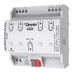 ZENNIO ZDI-DLB4 DALIBOX Broadcast 4CH KNX-DALI Broadcast Interface 4 Kanäle