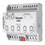 ZENNIO ZDI-RGBDX4 Lumento DX4 REG LED-Dimmer mit 4 Kanälen