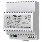 ZENNIO ZPS-AUX1 Spannungsversorgung für AudioInRoom + Access Control 24 VDC/2,5A
