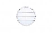 ZÜBLIN 2751 HF RondoX LED 10W IP55 LED Außenleuchte mit HF-Bewegungsmelder Weiß