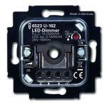 BUSCH-JAEGER 6523 U-102 Busch-Drehdimmer UP, LED, 2-100 W