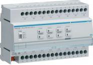 HAGER TXM616D KNX Schaltaktor und Jalousieaktor 16A C-Last 16/8-fach