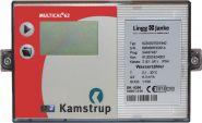 LINGG&JANKE 85975 Kamstrup Multical 62 - Warmwasserzähler, DN25, G5/4B Gewinde 260 mm / Qn=4,0 m³/h
