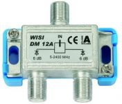 WISI DM 12A SAT-Verteiler F-Connector 2-fach