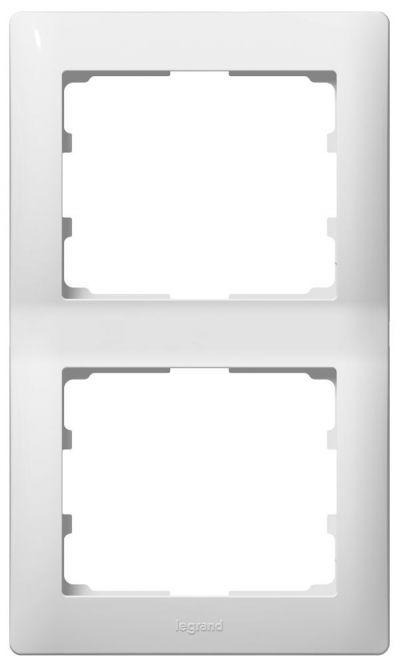 LEGRAND Rahmen 771003 3fach waagerecht ultraweiss