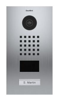 IP Video Türstation mit Ruftaste