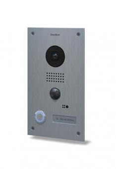 IP Video Türstation Edelstahlknopf beleuchteter LED Ring