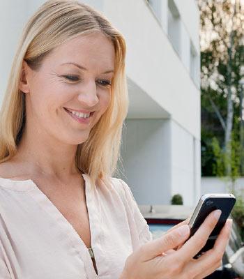 homeLYnk Mobilgerät