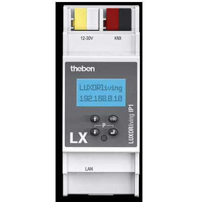 Theben LUXORliving Zentrale mit LAN-Anbindung