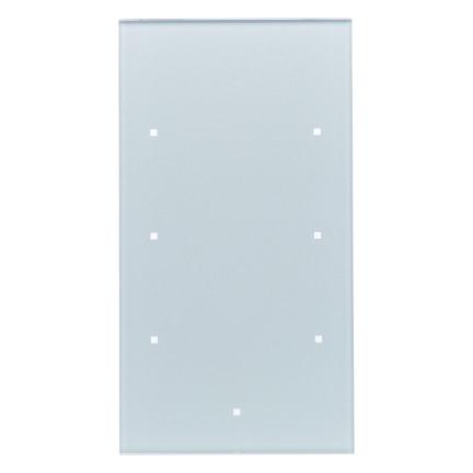 berker 75143134 knx glas sensor 3fach komfort konfiguriert glas alu online kaufen im voltus. Black Bedroom Furniture Sets. Home Design Ideas