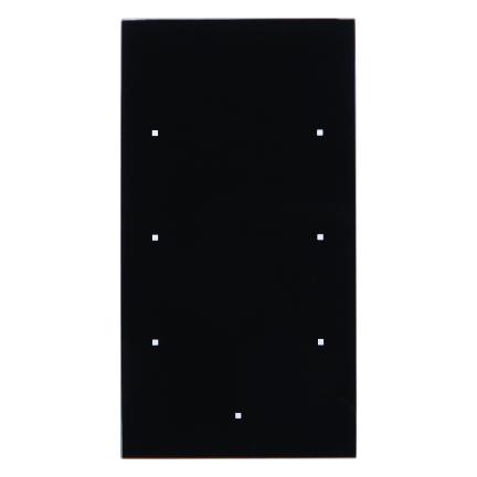 berker 75143835 knx glas sensor 3fach komfort glas schwarz online kaufen im voltus elektro shop. Black Bedroom Furniture Sets. Home Design Ideas