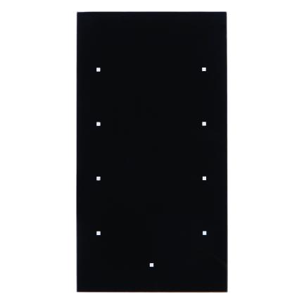 berker 75144935 knx glas sensor 4fach komfort konfiguriert glas schwarz online kaufen im voltus. Black Bedroom Furniture Sets. Home Design Ideas